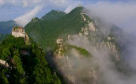 [BBC] La imponente belleza de la muralla china desde el aire
