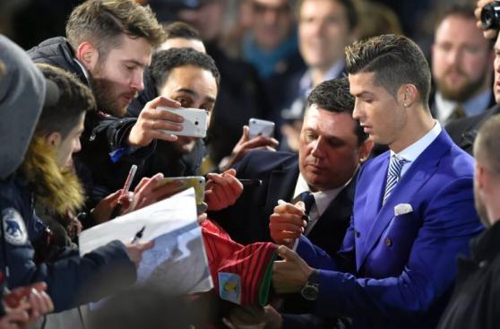 Cristiano Ronaldo: imágenes de su día triunfal en gala The Best