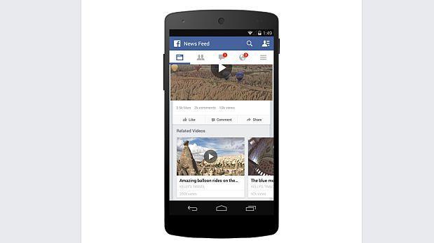 Facebook permitirá insertar anuncios publicitarios en videos
