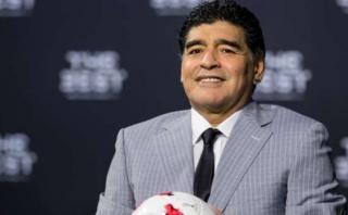 Maradona decepcionado por ausencia de Messi en premios The Best