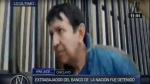 Detienen a sujeto acusado de robar a beneficiarios de Juntos - Noticias de marcos huaman