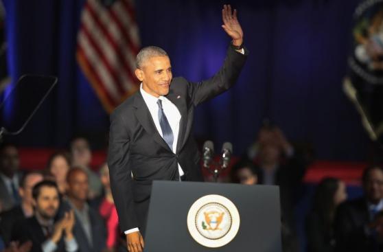 Barack Obama brindó emotivo discurso de despedida en Chicago