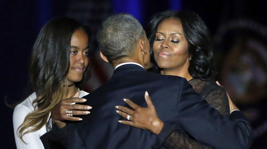 Michelle Obama se despide con un emotivo discurso de la Casa Blanca