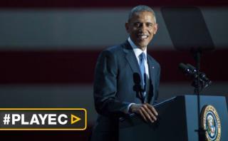 """Obama en su último discurso como presidente: """"¡Sí, lo hicimos!"""""""