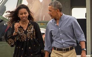 Obama: ¿Por qué su hija menor se perdió su último discurso?
