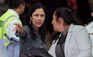 Nadine Heredia podrá salir del país pero debe regresar cada mes