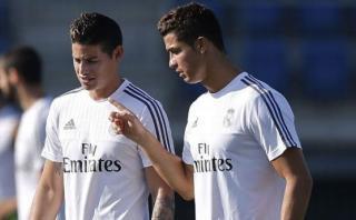 Cristiano Ronaldo evitó que James deje Real Madrid por Chelsea