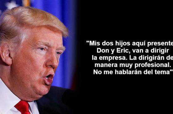 Donald Trump: Lo que dijo en su primera conferencia en 6 meses