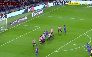 Lionel Messi le dio clasificación al Barcelona con este golazo