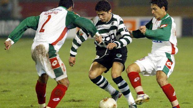 Cristiano Ronaldo jugando por el Sporting de Lisboa en el año 2002 (Foto: getty)