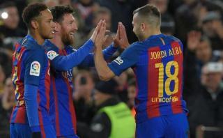 Barcelona ganó 3-1 a Athletic Bilbao y avanzó en Copa del Rey