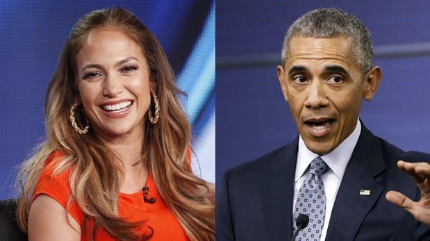Para Jennifer López así debió haber sido el discurso de Obama