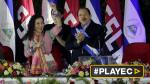Ortega asume cuarto periodo con su esposa como vicepresidenta - Noticias de daniel salvador