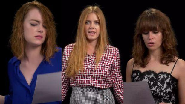 Actores de Hollywood le cantan