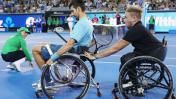 Djokovic jugó tenis en silla de ruedas en un desafío distinto