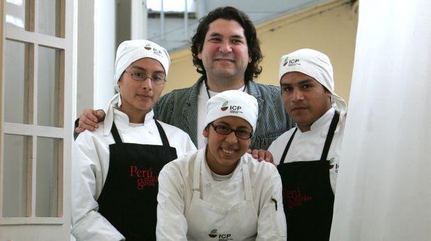 Gastón Acurio fundó el Instituto de Cocina Pachacútec el año 2007.