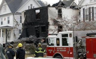 Estados Unidos: Seis niños murieron en incendio en Baltimore
