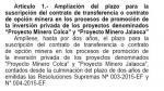 Proinversión: dos proyectos mineros potenciales en cartera - Noticias de cobre
