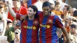 Ronaldinho y la emotiva carta en la que habla de Lionel Messi - Noticias de futbol espanol barcelona