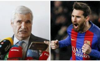 Barcelona: directivo arremetió contra Messi y fue despedido