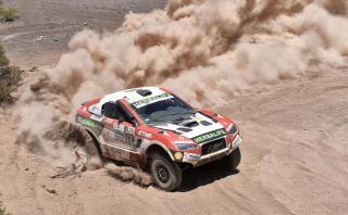Dakar 2017: Nicolás Fuchs en el puesto 12 de la categoría Autos