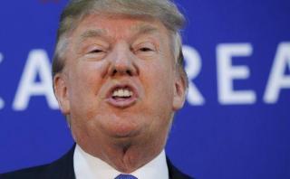 Trump arremetió contra congresista que cuestionó su elección