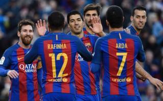 Barcelona goleó 5-0 a Las Palmas por la Liga Santander [VIDEO]