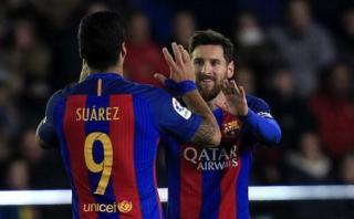 Luis Suárez comentó lo que siente Messi sobre su renovación