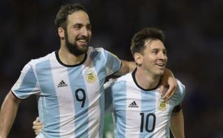 """Higuaín: """"Claro que aconsejaría a Messi jugar en la Juventus"""""""