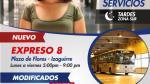 Metropolitano: así cambiarán los servicios desde el lunes 30 - Noticias de flores flores