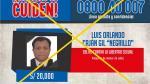 Capturan a sujeto acusado de violar a menor de edad en Tacna - Noticias de placas de rodaje