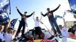 Dakar 2017: así celebraron los ganadores y los peruanos - Noticias de carlo vellutino