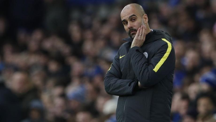 Guardiola: sus elocuentes gestos en goleada al Manchester City