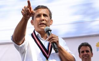 Odebrecht habría dado US$3 mlls. a Ollanta Humala, según Folha