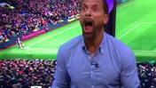 El alocado grito de Rio Ferdinand por el gol de Ibrahimovic