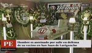 San Juan de Lurigancho: matan a hombre por defender a vecino