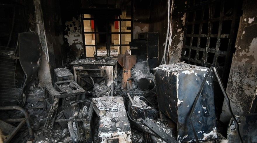 Univ. de Mosul, arrebatada al Estado Islámico pero en ruinas
