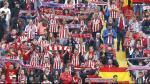 Twitter: Atlético de Madrid homenajeó a su hinchada más longeva - Noticias de mirtha gregoria vicente quiroz