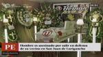 San Juan de Lurigancho: matan a hombre por defender a vecino - Noticias de angelita borrero ruben jungbluth