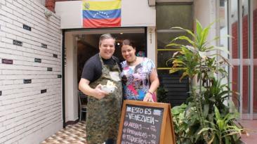 Comida venezolana en Lima: si la crisis golpea, la cocina salva