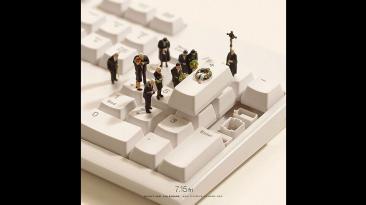 Facebook: los increíbles dioramas de un artista japonés