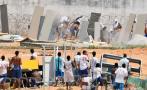 Brasil: Policía dispara balas de goma contra presos amotinados