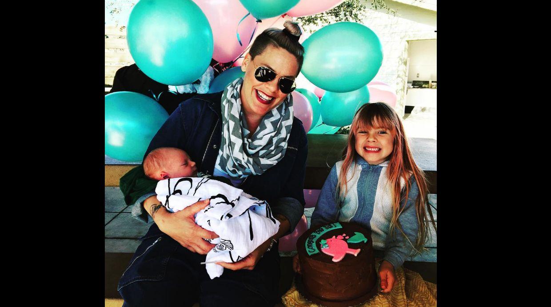 Pink celebra a su hija mayor tras llevar a casa a su bebe