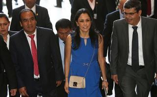 Fiscalización levantará el secreto bancario de Nadine Heredia