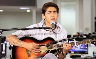 """Daniel Lazo en una sesión acústica desde """"El Comercio"""" [VIDEOS]"""