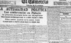 1917: Doña Sofía de Belaunde