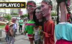 Lima inició fiesta de aniversario con música y baile en calles