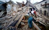 Tres terremotos sacudieron Italia en una hora