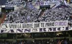 Real Madrid: Sergio Ramos recibió muestras de apoyo en Bernabéu