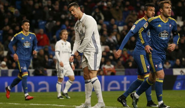 Real Madrid se vio superado por el Celta en los cuartos de final de la Copa del Rey. (Video: Youtube/Foto: Captura)
